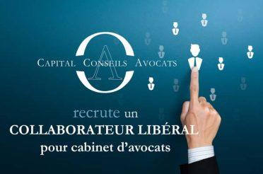 Notre cabinet recrute un collaborateur libéral pour cabinet d'avocats