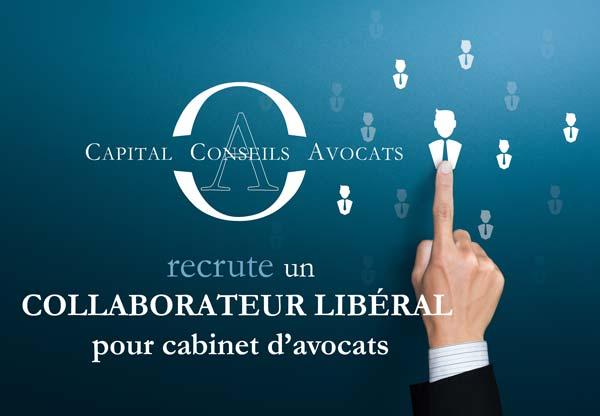 Recrutement collaborateur libéral un cabinet d'avocats - Charenton le pont